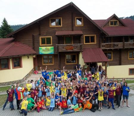 Подарок детям от лагеря 997